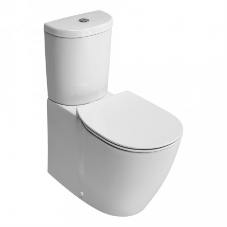 Concept close coupled back to wall wc pan with horizontal outlet and Aquablade technology