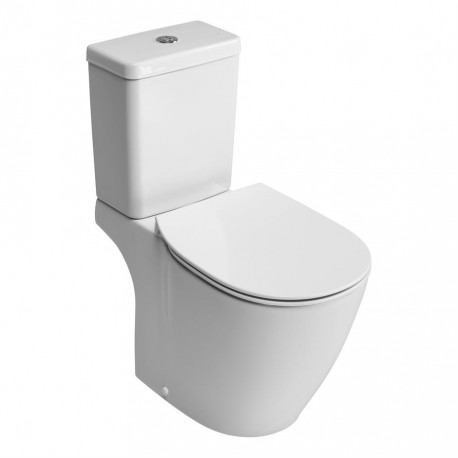 Concept close coupled wc pan with horizontal outlet and Aquablade technology