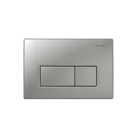 Geberit KAPPA50 Dual Flush Plate For UP200 Cistern 150mm Kappa Cistern Stainless Steel