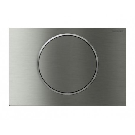 Geberit SIGMA10 Single Flush Plate for 80mm and 120mm Sigma Cisterns Anti Vandal Stainless Steel