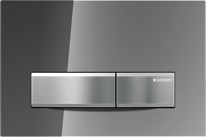 Geberit Sigma50 Dual Flush Plate For 80mm And 120mm Sigma