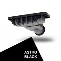 Just Trays Evoled Shower Waste Astro Black
