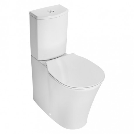 Concept Air Arc Close Coupled Back to Wall WC Suite With Aquablade Technology