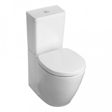 Concept Space Compact Close Coupled/Back To Wall WC Suite - Cube