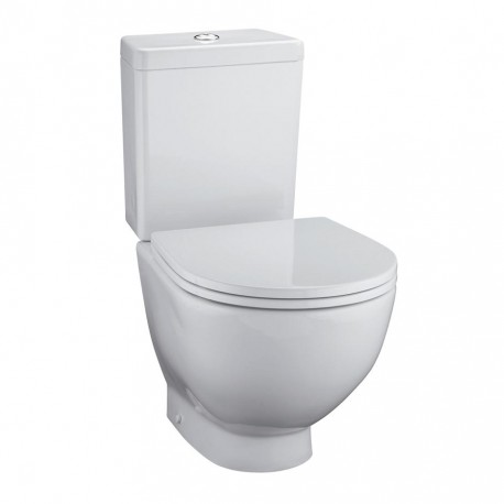 White Close Coupled WC Suite/White, designed by architect David Chipperfield