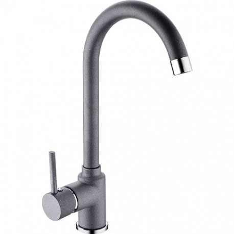 Franke Pola Stone Grey Kichen Sink Mixer Tap Single Lever