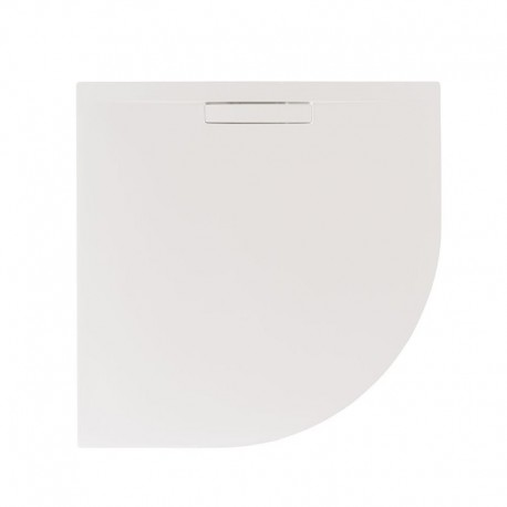 Just Trays Evolved Quadrant Shower Tray Anti Slip 800x800mm Matt White