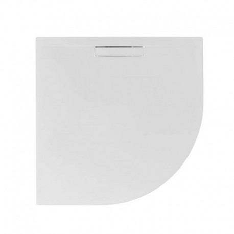 Just Trays Evolved Quadrant Shower Tray Anti Slip 900x900mm Gloss White