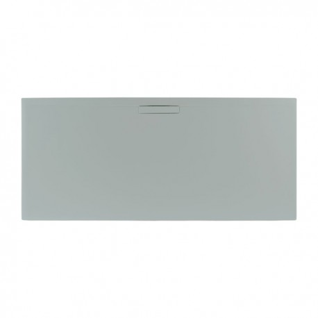 Just Trays Evolved Rectangular Shower Tray 1000x760mm Mistral Grey