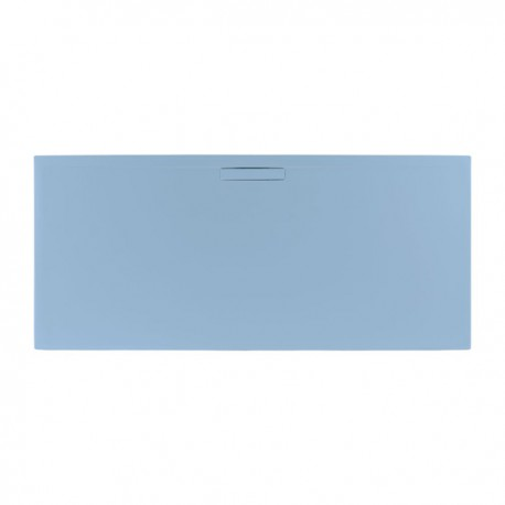 Just Trays Evolved Rectangular Shower Tray 1000x760mm Pastel Blue