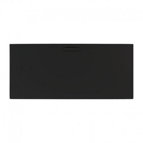 Just Trays Evolved Rectangular Shower Tray 1000x800mm Astro Black