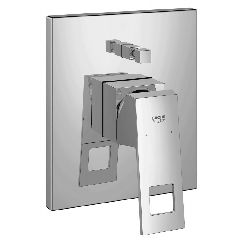 grohe eurocube concealed bath shower single lever tap. Black Bedroom Furniture Sets. Home Design Ideas