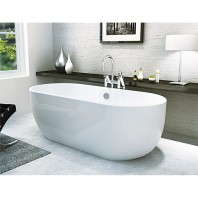 Synergy San Marlo Modern Freestanding Bath 1555 x 745 x 580mm