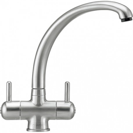 Franke Zurich Silk Steel Monoblock Kitchen Tap