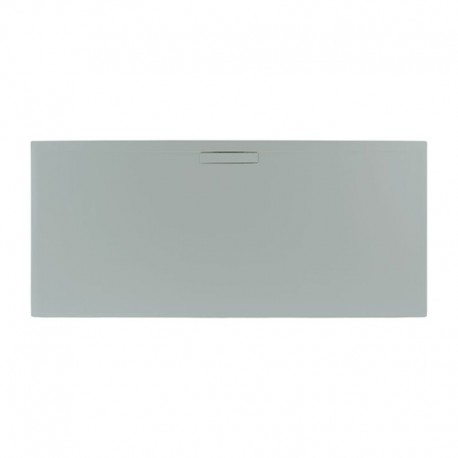 Just Trays Evolved Rectangular Shower Tray 1000x800mm Mistral Grey