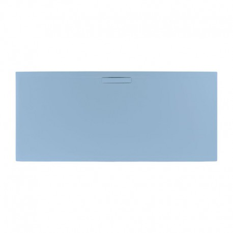 Just Trays Evolved Rectangular Shower Tray 1000x800mm Pastel Blue
