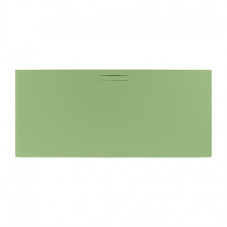 Just Trays Evolved Rectangular Shower Tray 1000x800mm Sage Green
