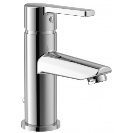 Essential DAWN Basin Mixer Tap 1 Tap Hole Push Top Waste Chrome