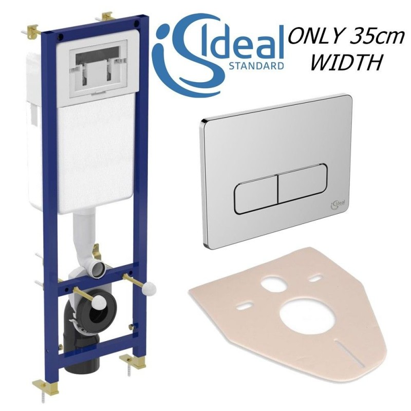 Ideal Standard Wc Frame Cistern Concealed Toilet Wall Hung