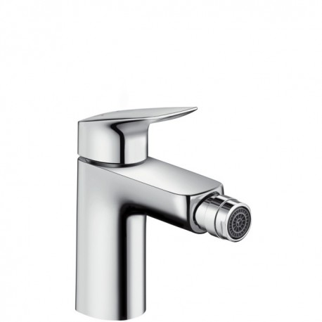 Hansgrohe Logis Single lever bidet mixer 100 with pop-up waste