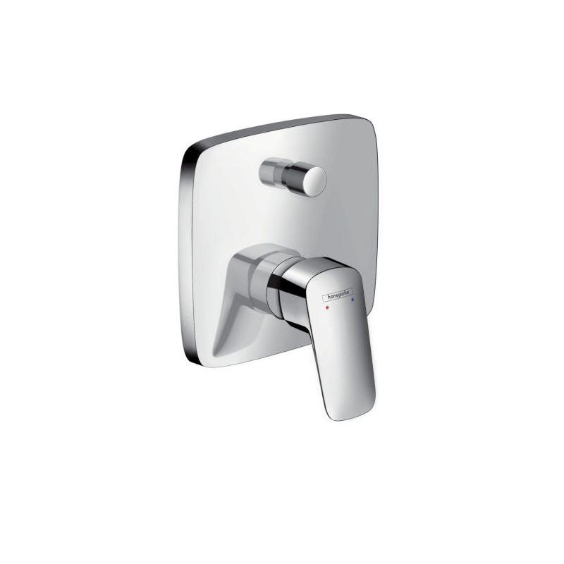 hansgrohe logis single lever bath mixer for concealed. Black Bedroom Furniture Sets. Home Design Ideas