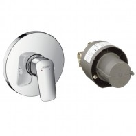 Hansgrohe  Logis Shower mixer set for concealed installation
