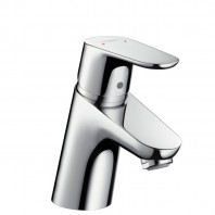 Hansgrohe Focus Single lever basin mixer 70 with push-open waste set