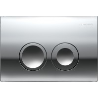 GEBERIT DELTA 21 FLUSH PLATE CHROME UP100