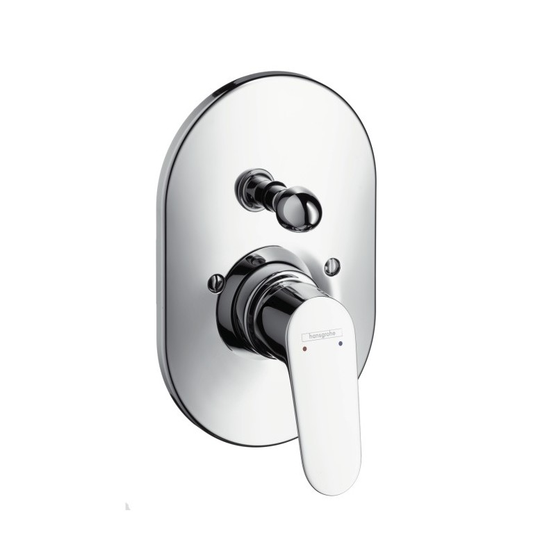 hansgrohe focus single lever bath and shower mixer for. Black Bedroom Furniture Sets. Home Design Ideas