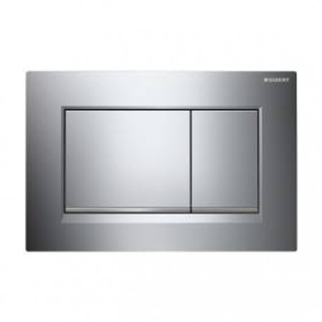 Geberit Sigma30 Dual Flush Plate Gloss Chrome/Matt
