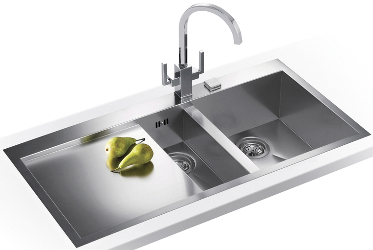 Tremendous Franke Planar 1 5 Bowl Inset Square Stainless Steel Kitchen Sink Pp Beutiful Home Inspiration Aditmahrainfo