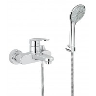 Grohe Europlus Single Lever Bath Shower Mixer Tap With Hand Shower Euphoria 3in1