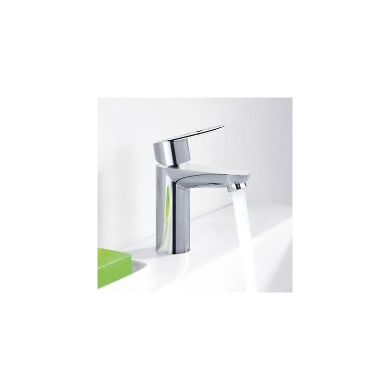 Grohe Bauedge Modern Single Lever Basin Mixer Tap Chrome Deck Mount