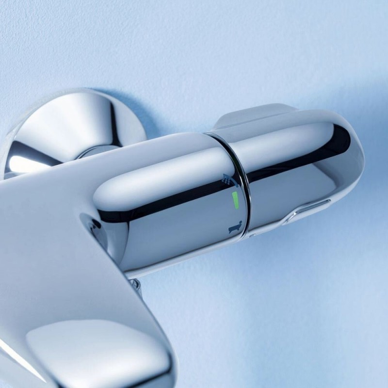 Grohe Grohtherm 1000 Thermostatic Modern Bath Shower Mixer