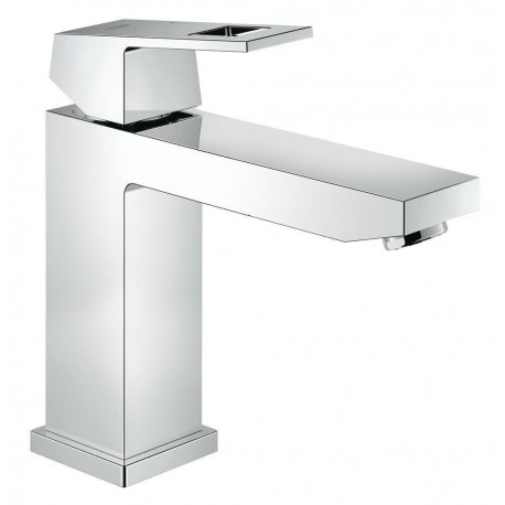 Grohe Eurocube Basin Bathroom Sink M-Size Mixer Tap Single Lever Deck Mounted Modern