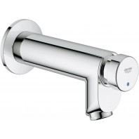 Grohe Euroeco Cs Self-closing Concealed Wall Mixer Tap Modern Single Lever