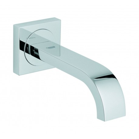 Grohe Allure Bath Spout 3/4 Inch, Chrome Concealed Wall Mounted Bathroom Modern