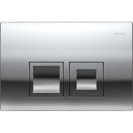 GEBERIT DELTA 50 FLUSH PLATE CHROME UP100