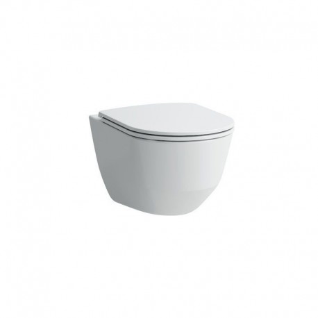 Laufen Pro Rimless Wall Hung Toilet Pan With Soft Close Seat 2in1