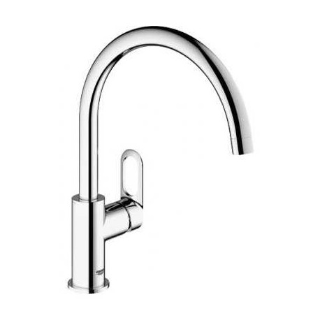 Grohe BauLoop Kitchen Sink Mixer Tap