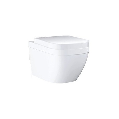 Grohe Euro Ceramic S Wc Rimless Wall Hung Toilet Pan With Soft Close Seat 2in1 Set Pack