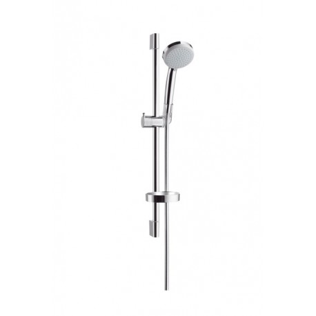 hansgrohe croma ecosmart croma 100 1jet hand shower unica. Black Bedroom Furniture Sets. Home Design Ideas