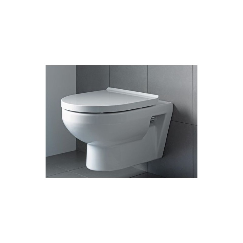 Duravit Durastyle Basic Rimless Wall Hung Toilet Pan With