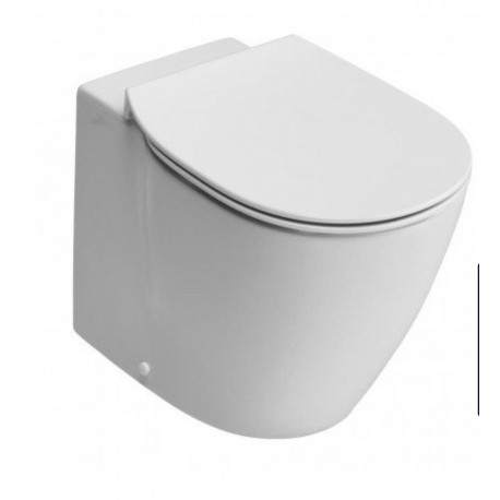 Ideal Standard Concept  Aquablade Back To Wall Pan With Slim Seat and Cover  2in1 Set