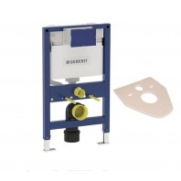 Geberit Duofix Kappa Up200 Concealed Wall Hung Wc Toilet Cistern Frame 820mm + Brackets + Wc Bend
