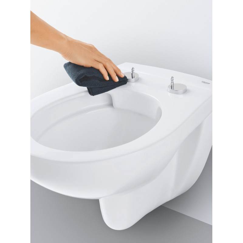 Grohe Bau Ceramic Rimless Wc Wall Hung Toilet Pan With