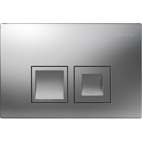 GEBERIT DELTA 50 FLUSH PLATE CHROME MATT UP100