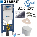 Geberit Up720 Sigma Wc Frame Cistern Concealed Toilet Wall Hung Ideal Standard Concept Air Soft Closed Seat 6in1