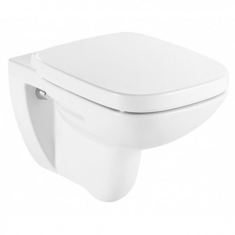 Roca Debba Wall Hung Toilet Pan With Soft Close Seat
