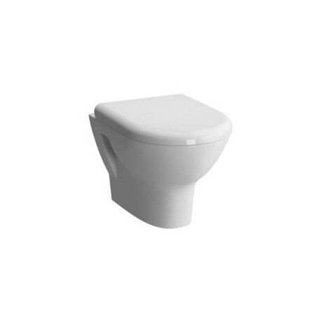 Vitra Zentrum Wall-hung Wc Pan With Soft Close Seat